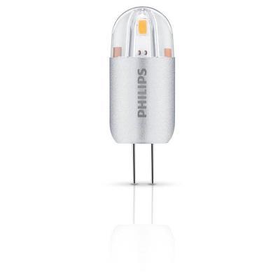 Philips - ampoule capsule led - culot g4 - 1,2w consommés - équivalence incandescence 10w