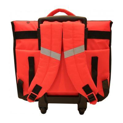meilleur service c3f5a 72644 Cartable à roulettes 41cm Miraculous Rouge, Cartable, sac à ...