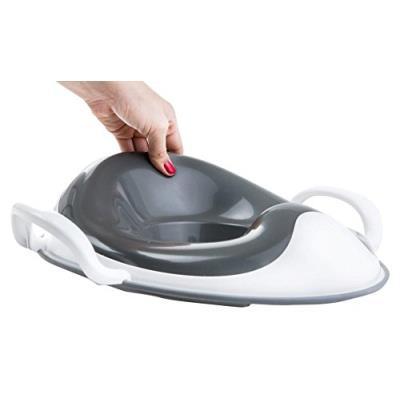 Prince lionheart weepod squish réducteur de toilette gris/blanc