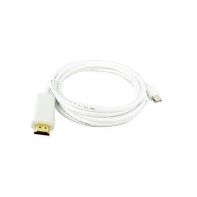 Câble Adaptateur 1 8m Mini Displayport Vers Hdmi Pour Mac Support Audio Pour Macbook Macbook Air Macbook Pro Imac Avec Mini Display Port Adaptateur Et Convertisseur Achat Prix Fnac