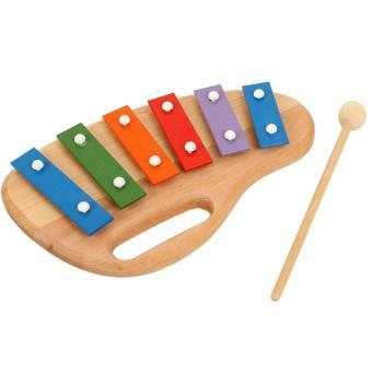 jouet musical en bois instrument musique xylophone 6 tons pour enfants 2 ans achat prix fnac. Black Bedroom Furniture Sets. Home Design Ideas