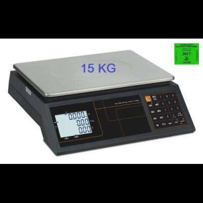 Balance commerciale poids prix 15 KG.