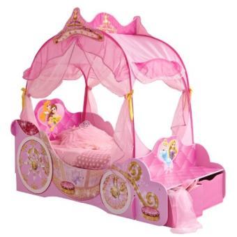 Worlds apart 862780 lit carrosse disney princesses rose lit pour enfant achat prix fnac - Lit carrosse princesse disney ...