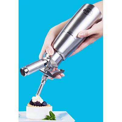 Ico cr105 siphon acier inoxydable 500 ml