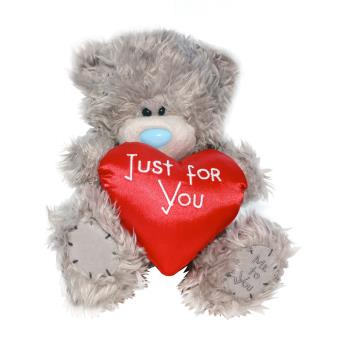 peluche ours coeur me to you just for you 20cm achat prix fnac - Ours Coeur