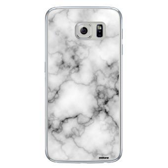 Coque transparente marbre blanc pour Samsung Galaxy S6 Edge ...
