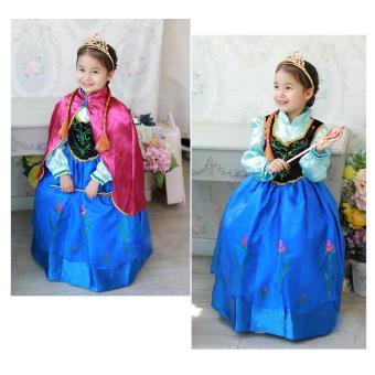 la reine des neiges robe anna dguisement enfant achat prix fnac - Robe Anna Reine Des Neiges