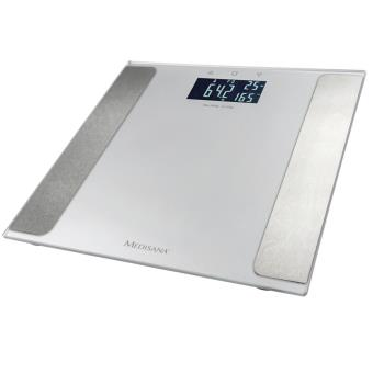 Medisana Lichaamsanalyse weegschaal BS 410 Connect 180 kg zilver 40424