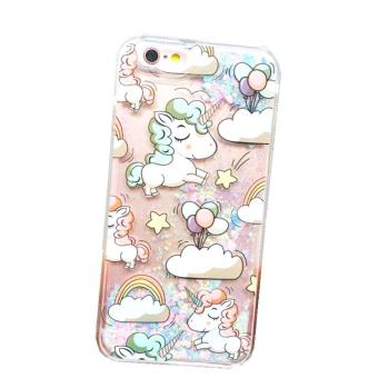 coque iphone 6 paillette licorne