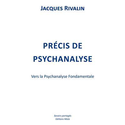 Précis de psychanalyse