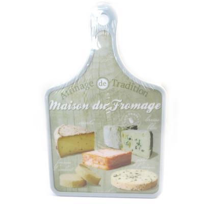 Les Trésors De Lily [M4889] - Planche à découpe 'Terroir Français' maison du fromage (30x20 cm)