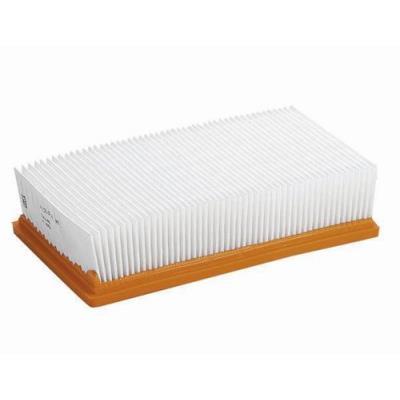 Filtre plissé plat (pes)