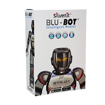 Silverlit - blu-bot télécommande robot intelligent avec bluetooth ou play modes autonome