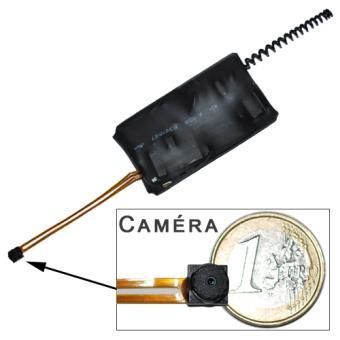 camera espion longue autonomie ultra discr te detection de. Black Bedroom Furniture Sets. Home Design Ideas
