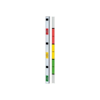 AXIS F9201 Height Strip Housing - protection de bande d'indication de la hauteur noire
