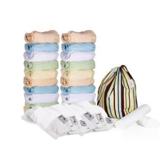 Close Parent Kit 20 Couches Lavables Minkee Pastel Doublures De