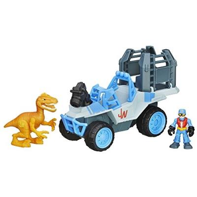 Jurassic world - b05354000 - figurine cinéma - dlx véhicule tracker - 4 x 4
