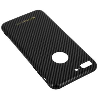 Coque Rigide a motif fibre de carbone Apple iPhone 7 Plus TOTU Design Noir