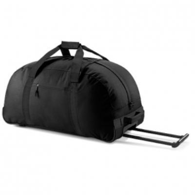 Grand sac de voyage trolley - 104 L - Wheely holdall - BG23 Coloris noir