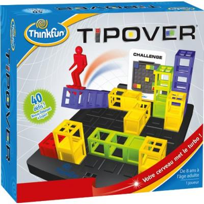 Asmodee - TFTIP01 - Jeu de Logique - Tipover