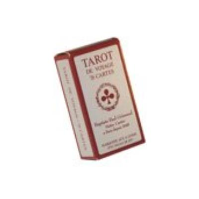 Jeu de Tarot de voyage - Qualité Grimaud - 78 cartesCartes à jouer superfine de luxe format et portraits français.Etui en carton et règle du jeu à l'intérieur.Dos écossais axé, marqué aux 4 coins.78 cartes.Dimensions de l'étui : 9,5 x 5 x 2,8 cm.