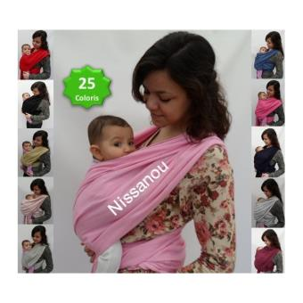 NISSANOU porte bébé ECHARPE DE PORTAGE neuve ROSE BONBON idée cadeau  naissance - Echarpes de Portage - Achat   prix   fnac 90a8865ac01