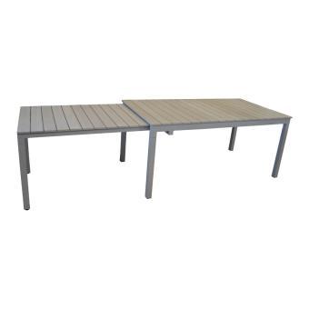 Proloisirs - Table de jardin Thema allonge escamotable ...