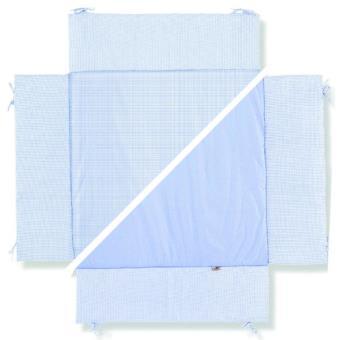Pinolino Tapis De Parc Bebe Universel Vichy Carreaux Bleux