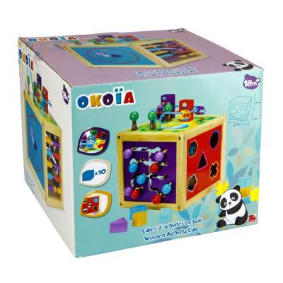 nice cheap super popular hot sales Cubes d'activités en bois okoïa - Jeux d'éveil - Achat ...