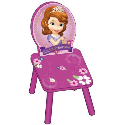 Petit Siège enfant en bois Princesse Sofia