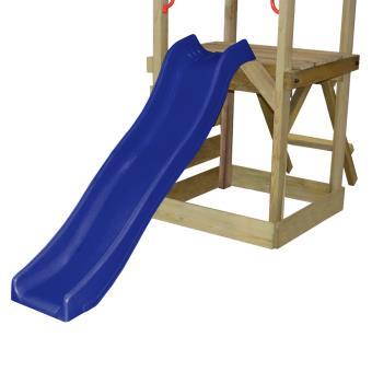 vidaXL Aire de jeux avec échelle, toboggan et balançoires en bois -  Balançoire   Portique Multi-activités - Achat   prix   fnac 9d67adf13eb9
