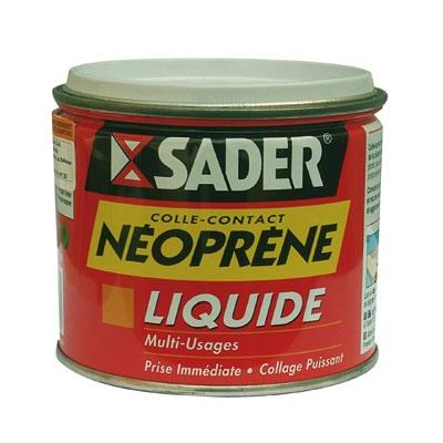 Colle contact liquide néoprène - 500 ml - SADER