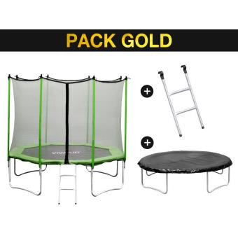 trampoline yoopi m avec filet chelle couverture achat prix fnac. Black Bedroom Furniture Sets. Home Design Ideas