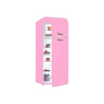 schaublorenz vintage sl208ddp r frig rateur cong lateur cong lateur haut pose libre rose. Black Bedroom Furniture Sets. Home Design Ideas