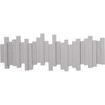 7 03 sur umbra porte manteau design mural sticks gris achat prix fnac. Black Bedroom Furniture Sets. Home Design Ideas