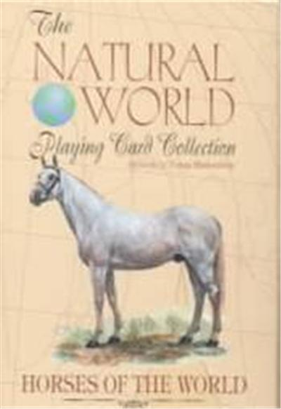 Horses of the World Playing Cards, The Natural World Playing Card Collection