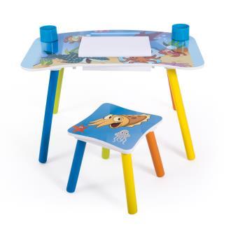 Ensemble Table Et Chaise Enfant Pour Loisirs Creatifs Motif Poissons PEGANE