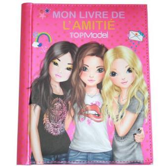 Mon Livre De L Amitie Rose Top Model Carnets Et Journaux