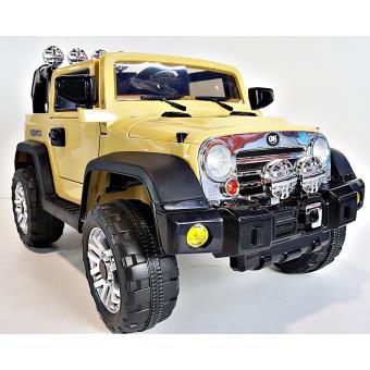 4x4 voiture lectrique pour enfant tout terrain suspensions 12v jaune avec t l commande achat. Black Bedroom Furniture Sets. Home Design Ideas