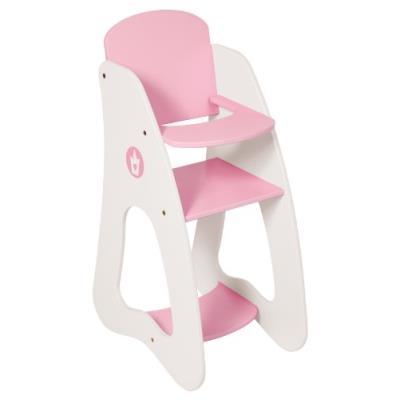 Bayer design - 50101 - mobilier de poupée - chaise - haute princesse rose - 32/22/53 cm