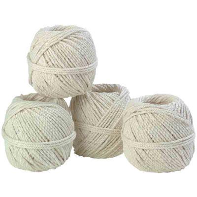 Cordeau coton câble - 2 mm x 40 m - 10 pelotes