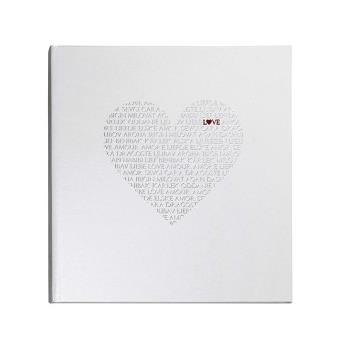 Livre D Or Un Cœur D Amour Couleur Blanc