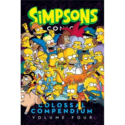 Simpsons Comics Colossal Compendium 4