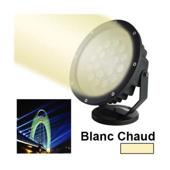 Projecteur LED blanc chaud spot exterieur eclairage jardin 15W 1200LM 5 Bon Marché Projecteur Led Shdy7