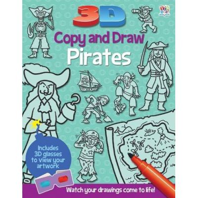 3D Copy & Draw Pirates