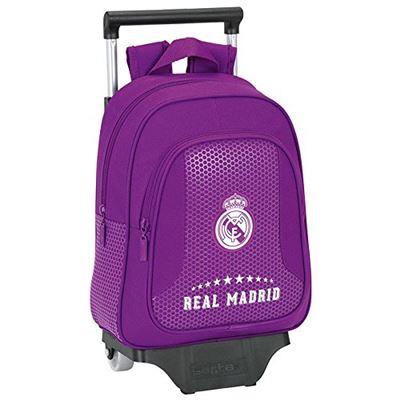 Trolley REAL MADRID Purple 33 cm