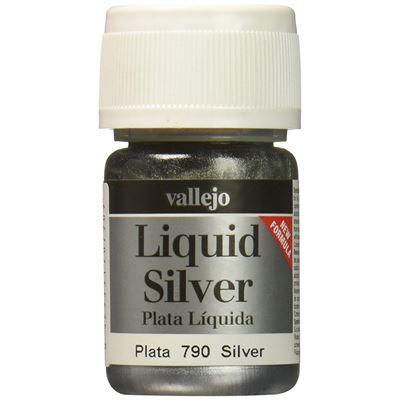 AV Vallejo Modèle métaux Couleur – Argenté (35 ml)