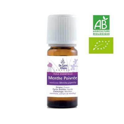 Huile essentielle Menthe Poivrée 10 ml.