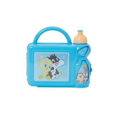 Set Boîte à gouter + Gourde Baby Looney Tunes