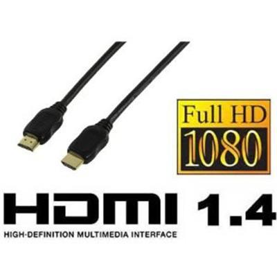 La dernière version du câble HDMI avec les nouvelles spécifications: HDMI Ethernet Channel (HEC) ; Canal retour du son (ARC) ;Gestion des vidéos 3D ; Prise en charge d'une résolution 4K x 2K ; Support direct des colors spaces - Spécifications: Connexions
